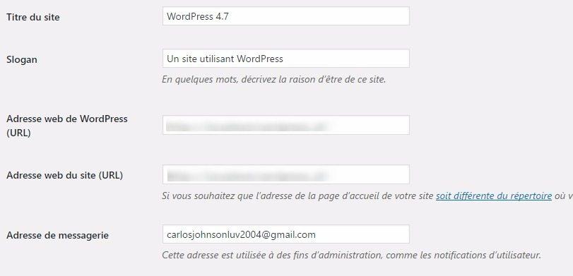 Cómo actualizar las URL durante la migración de WordPress | BlogPasCher