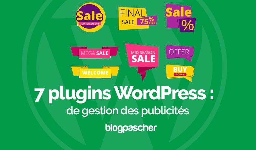 Plugins gestion publicites wordpress