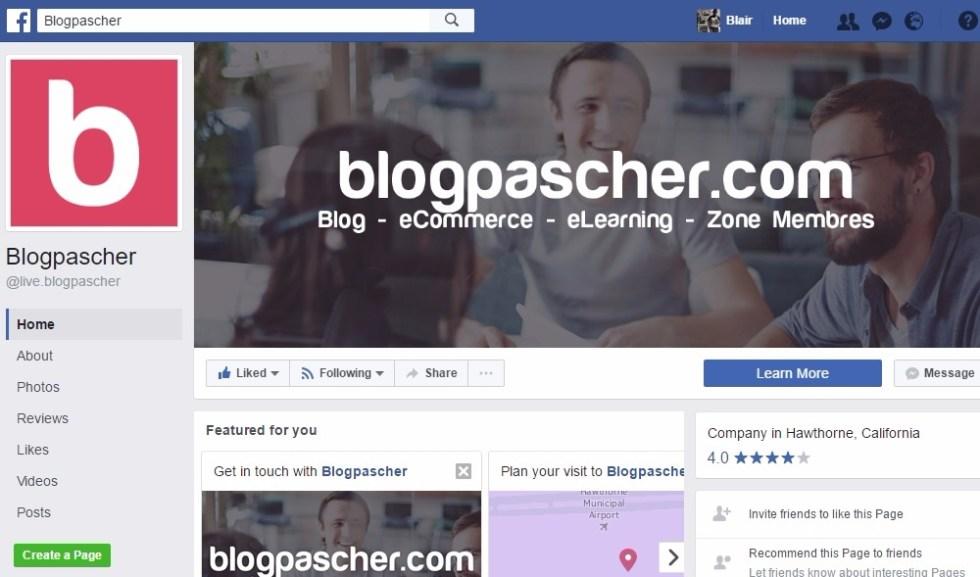 Profil social entreprise blogpascher