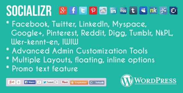Socializr plugin wordpress pour digg