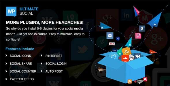 Ultimate social plugin wordpress pour digg