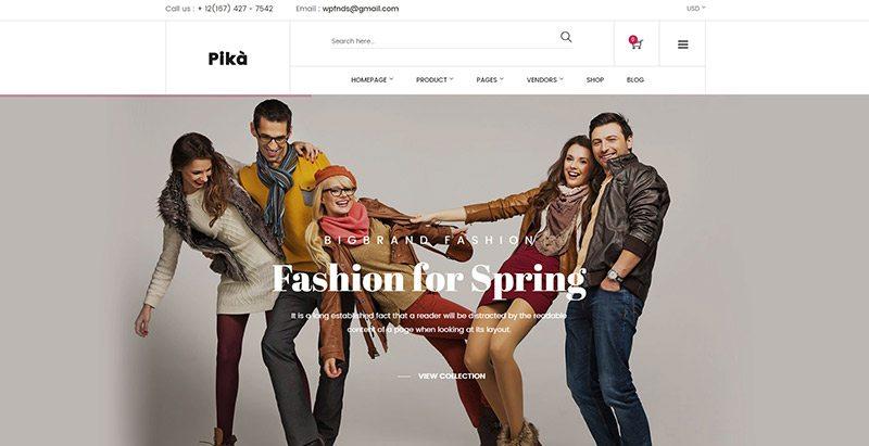 Temas de WordPress para crear una tienda en línea | BlogPasCher