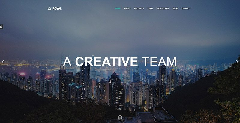Royal themes wordpress creer site web agence creative studio photo pigiste architecte
