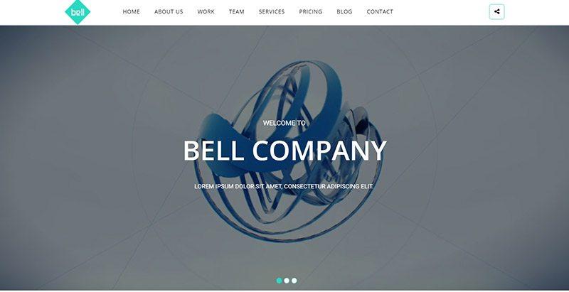 Temas de WordPress para crear un sitio web de la agencia creativa ...