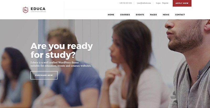 Temas de WordPress para crear un sitio web de e-learning | BlogPasCher