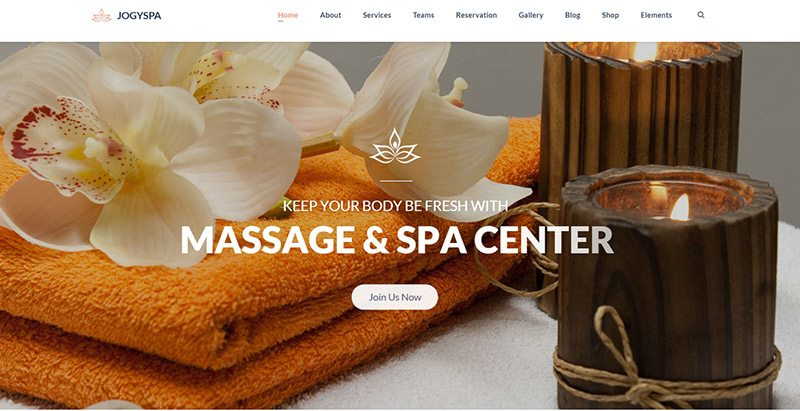 10 Wordpress Themes To Create A Spa Website Or Massage Lounge