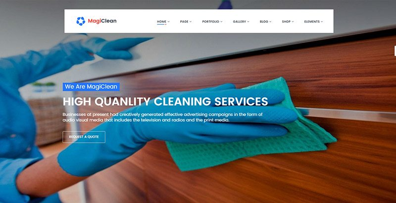 Temas de WordPress para limpiar el sitio web de negocios | BlogPasCher