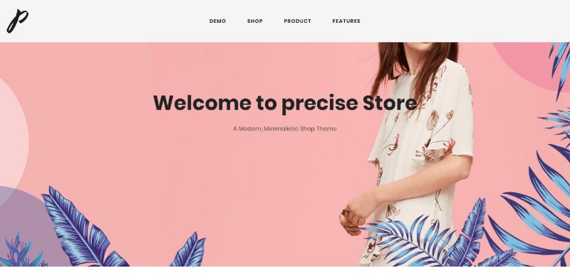 Precise themes wordpress creer boutique en ligne e commerce woocommerce