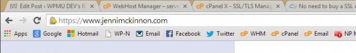 Site do certificado SSL