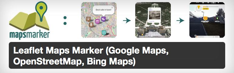 Leaflet map marker wordpress plugin