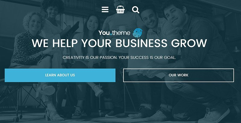 Você temas wordpress criar site empresa empresa organização