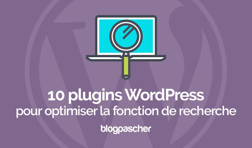 10 Plugins WordPress Pour Optimiser La Fonction De Recherche