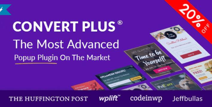 Convertplus plugin wordpress verouilleur contenu blogpascher