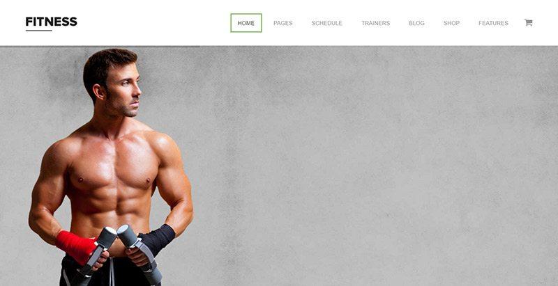 Temas de WordPress sitio web o Yoga Gimnasios | BlogPasCher