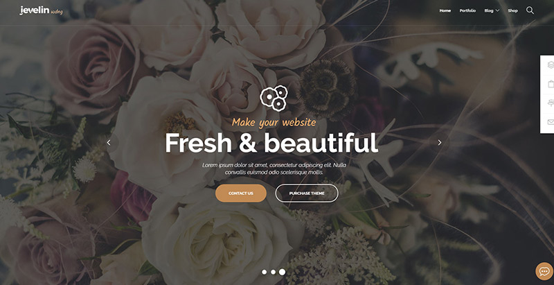Jevelin themes wordpress creer site web mariage fiancailles epouse marie mariee