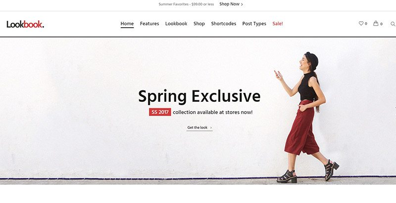 Lookbook themes wordpress creer site web ecommerce boutique en ligne woocommerce