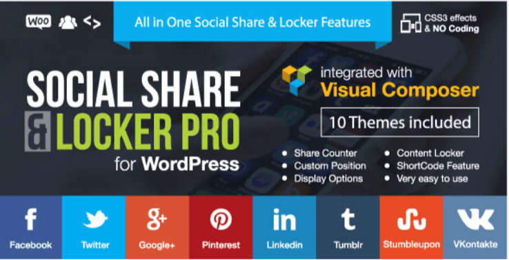 Social Share Locker Pro WordPress-plug-in