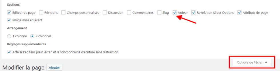 Comment autoriser utilisateurs modifier certaines pages 5