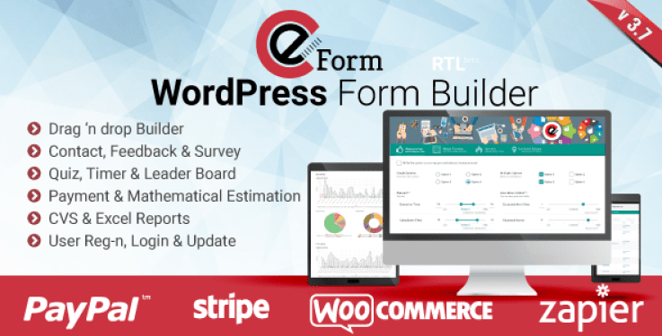 Eform plugin wordpress de formulaires