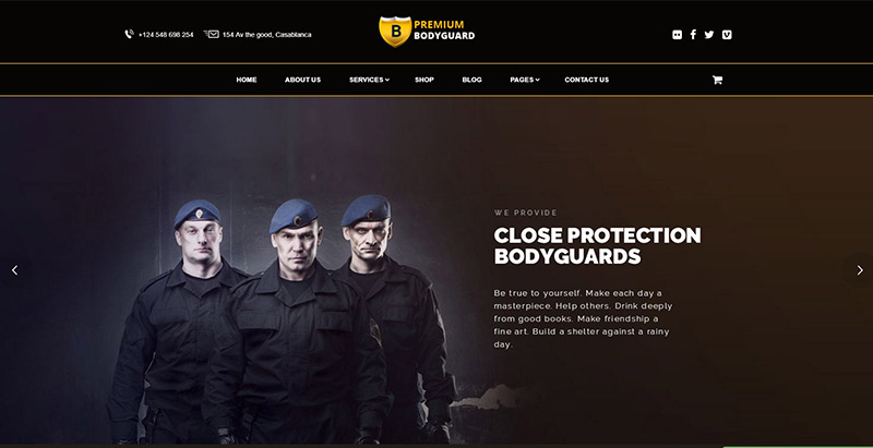 7 thèmes WordPress pour créer un site Web d'entreprise de sécurité