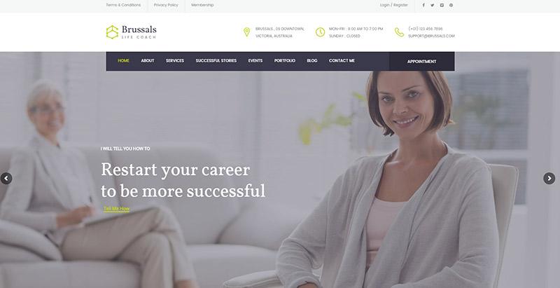 Temas de WordPress para el sitio web de la salud y la vida ...