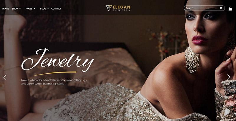 Elegance themes wordpress creer boutique en ligne vetements bijoux chaussures mode
