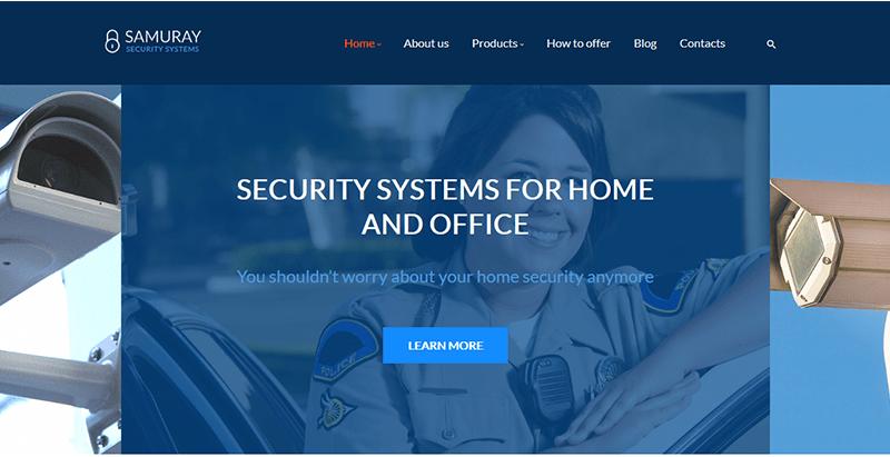 Samurai security systems