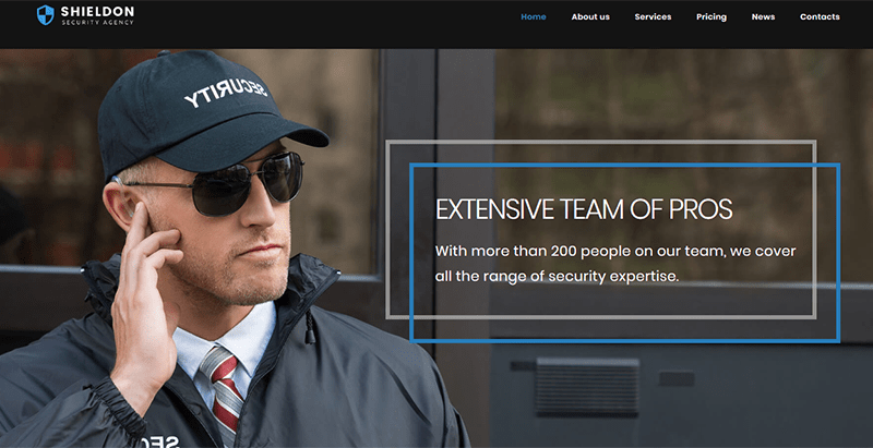 Shieldon theme wordpress securite