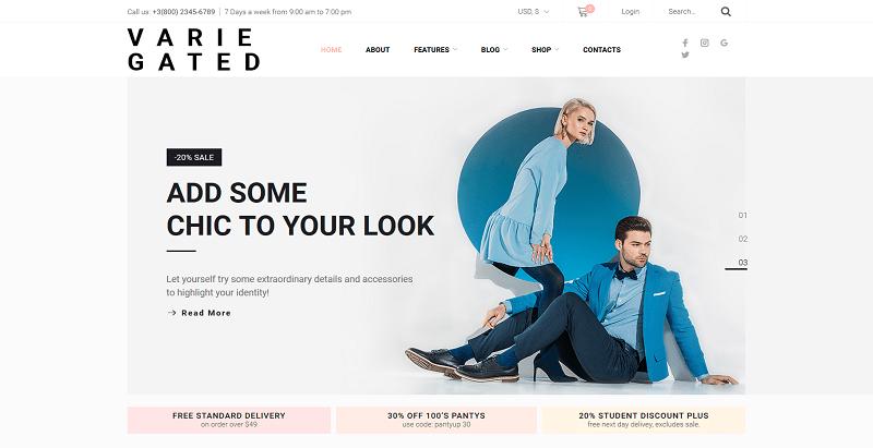 495b44295 ... online para a venda de roupas e acessórios femininos. Se você está  vendendo jóias artesanais ou outros itens de moda, o WordPress Gated WordPress  tema ...