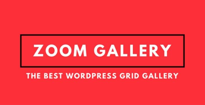 Zoom Gallery plugins wordpress ajouter galerie portfolio site web blog