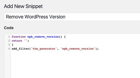 Ajouter un code dans la zone de code