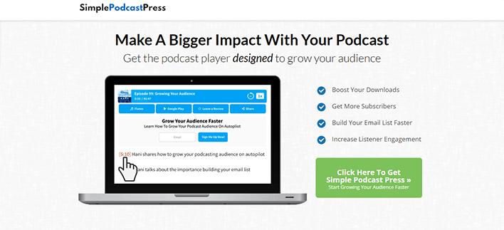 Plugins wordpress podcasters simplepodcastpress blogpascher