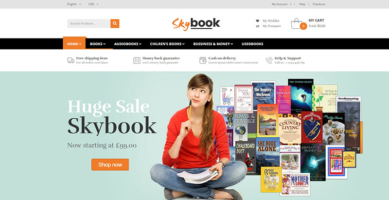 1ec3ef874b1b 10 WordPress temi per creare un negozio online