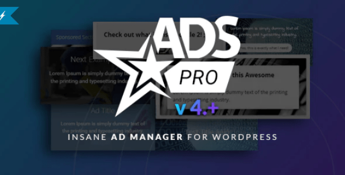 Ads pro plugin multi purpose wordpress advertising manager plugin wordpress