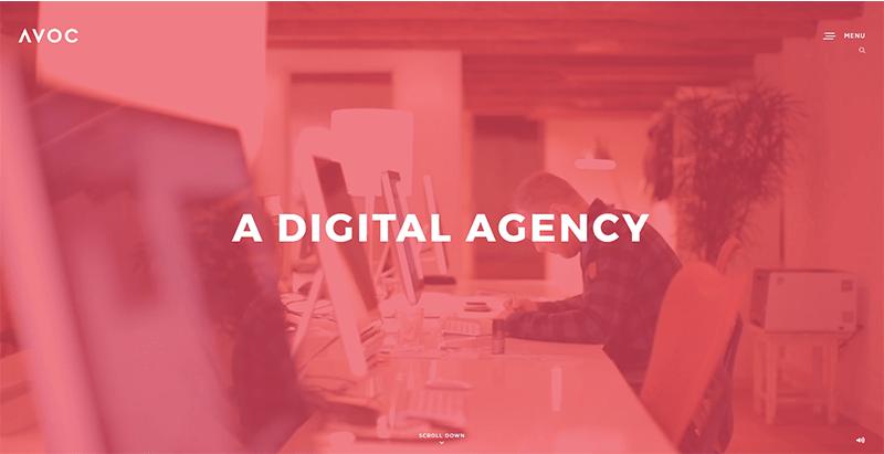 Avoc themes wordpress creer site web entreprise numerique digital creative hebergement referencement