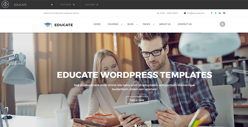 Temas de 10 WordPress para crear un sitio web de e-learning ...