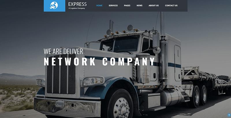 10 Thèmes WordPress Pour Créer Un Site Web D'entreprise De Transport