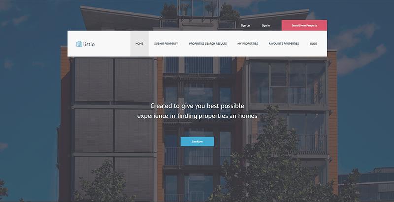 Temas de WordPress para el sitio web de ventas de bienes raíces ...