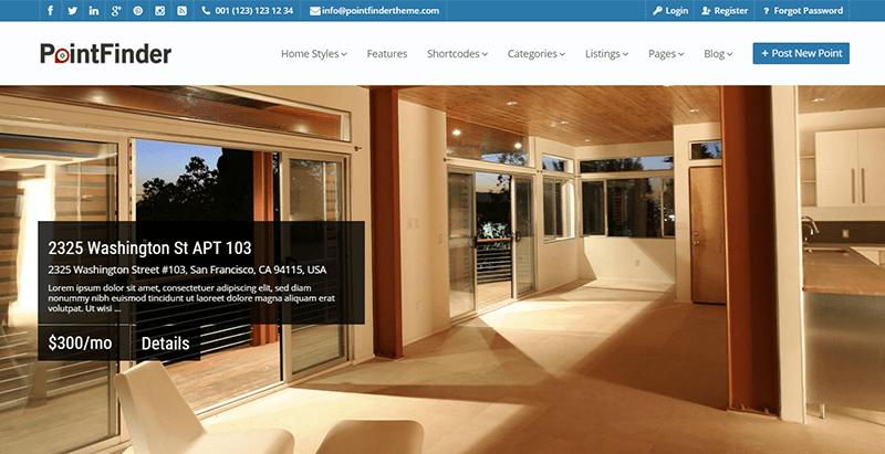 Temas de WordPress para los anuncios o directorio portal web ...