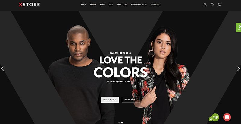 Xstore themes wordpress look sombre creer site web creative ecommerce magazine entreprise