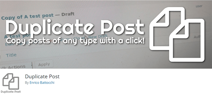 Comment dupliquer facilement article page wordpress 2
