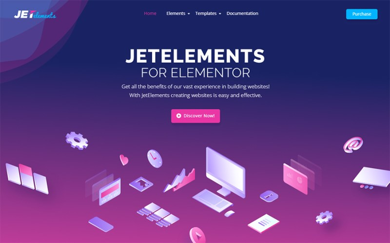 Elementor WordPress Plugin Jetelement