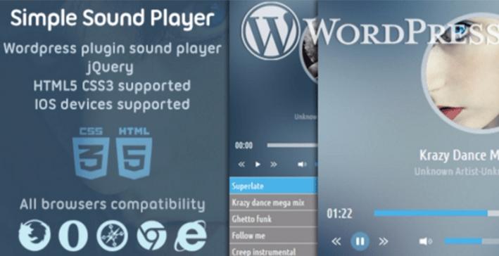 Các plugin wordpress của Ssplayer tích hợp trình phát âm thanh của trang web