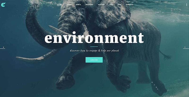 Ecologist Themes Wordpress Creer Site Web Organisation Ecologique Environnement Ecosysteme