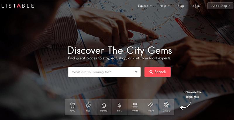 créer un site web de petites annonces - Listable themes wordpress