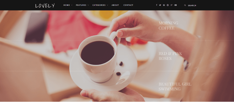 Lovely themes wordpress creer blog
