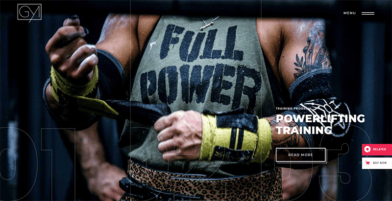 Powerlift Theme Wordpress Creer Site Web Club Fitness Gym
