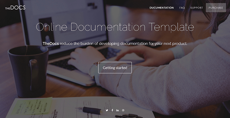 Thedocs themes wordpress creer site web applications mobiles logiciel