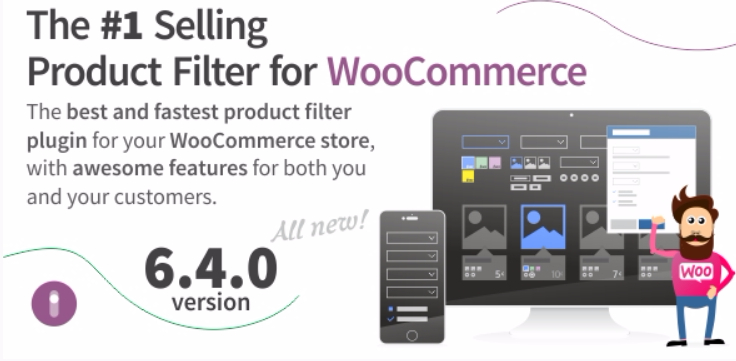 Filter produk Woocommerce