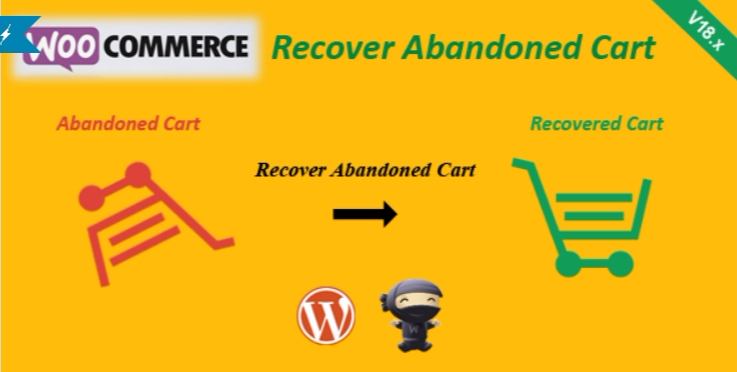 Woocommerce recover abandoned cart 1